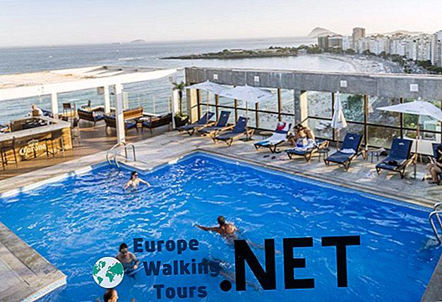 Kur apsistoti Rio de Žaneire: geriausi rajonai ir viešbučiai