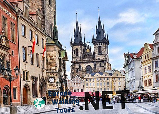 ヨーロッパで最も撮影された25の都市