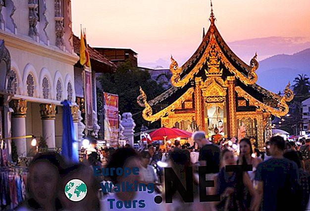 15 geriausių miestų apsilankyti Tailande