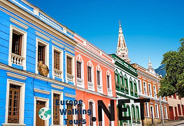 Kaip praleisti 2 savaites Kolumbijoje Pavyzdinis maršrutas