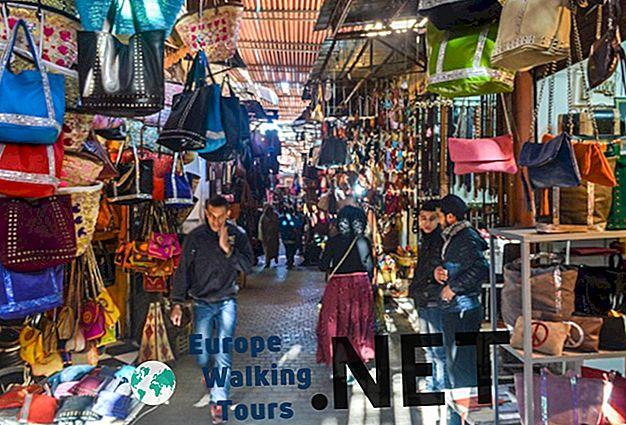 10 populiariausių lankytinų vietų Marakeše