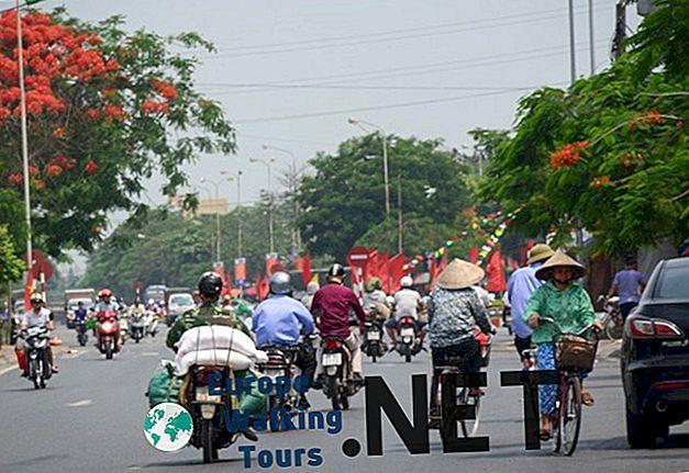 17 geriausių miestų apsilankyti Vietname