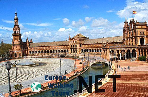 10 najboljših turističnih znamenitosti v Sevilli