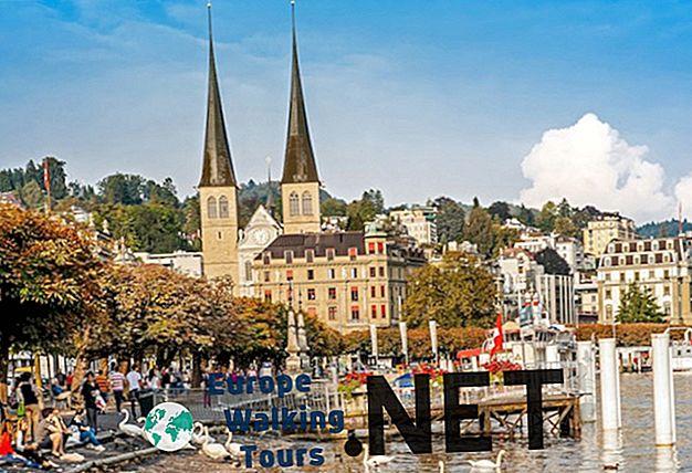 10 Top turistattraktioner i Lucerne