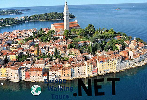 10 najlepších turistických atrakcií v Chorvátsku