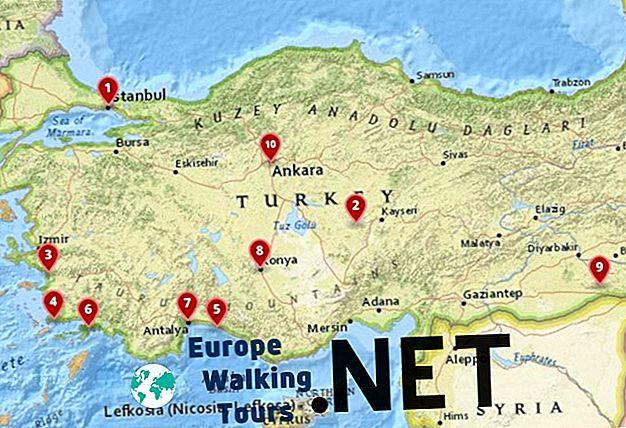 10 Najboljih Mjesta Za Posjetiti U Turskoj