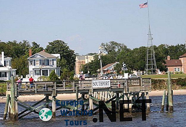 12 Najšarmantnijih malih gradova u Sjevernoj Karolini