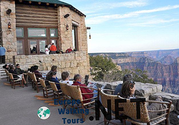 "Kur apsistoti Grand Canyon: ""Best Places & Hotels"""