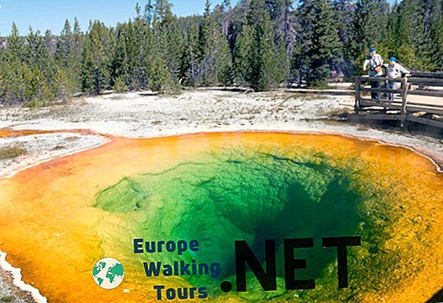 10 nejlepších atrakcí - Yellowstonský národní park