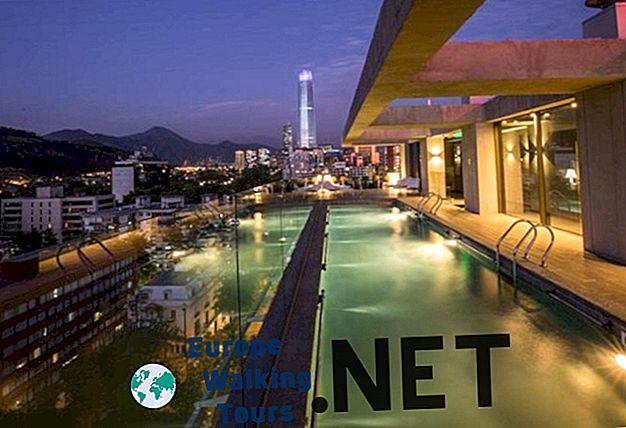 7 besten Übernachtungsmöglichkeiten in Santiago de Chile