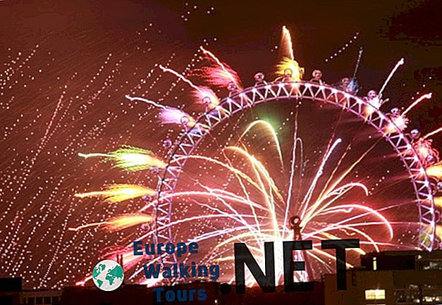 5 Sebab untuk merayakan Tahun Baru di London