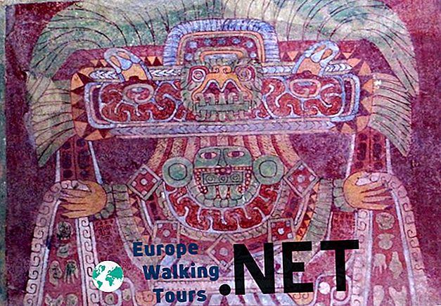 9 Най-красивите пирамиди и руини на Теотиуакан