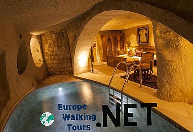 10 най-красивите пещерни хотели в Кападокия