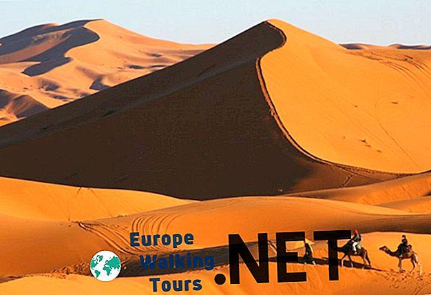 10 Úžasné pouštní krajiny