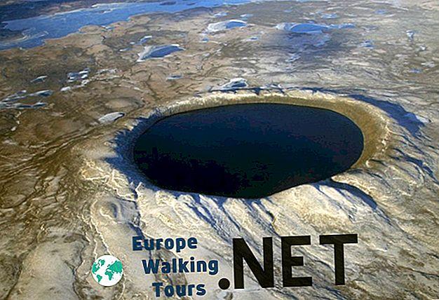 11 захватывающих кратеров на Земле
