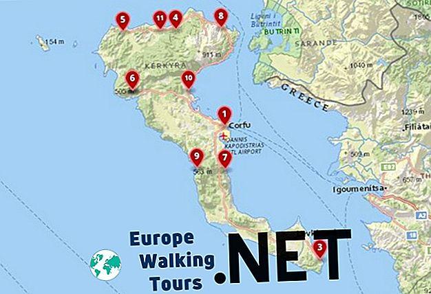 Dove alloggiare a Corfù: i migliori città e alberghi