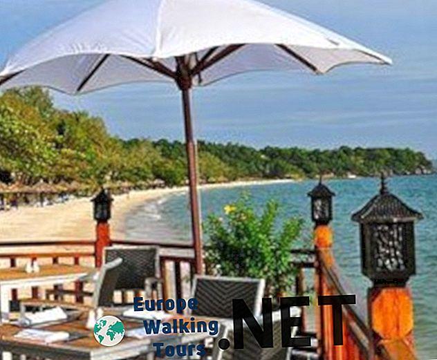 7 geriausi Kambodžos paplūdimio kurortai