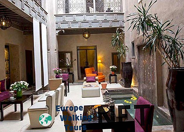 10 hoteluri de top în Maroc