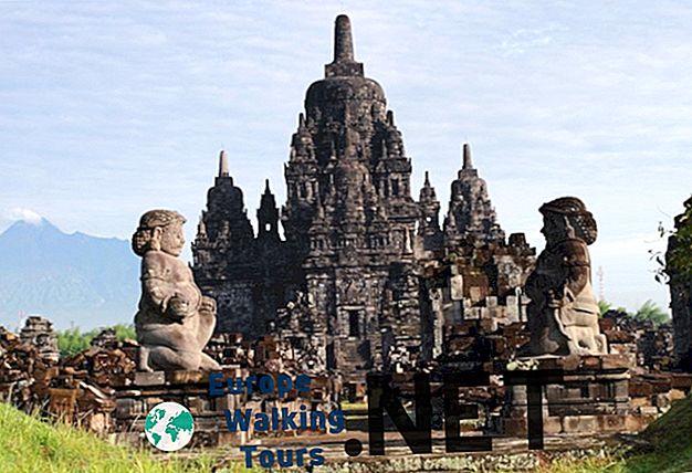 10 visskaistākie tempļi Indonēzijā