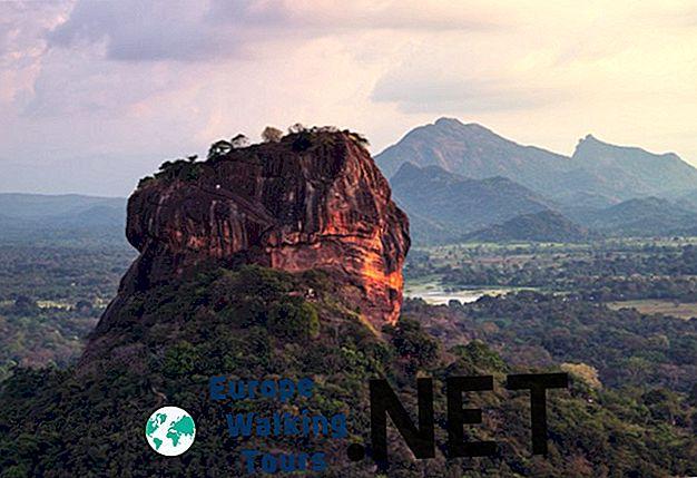Atraskite Šri Lankos Sigiriya roko tvirtovę