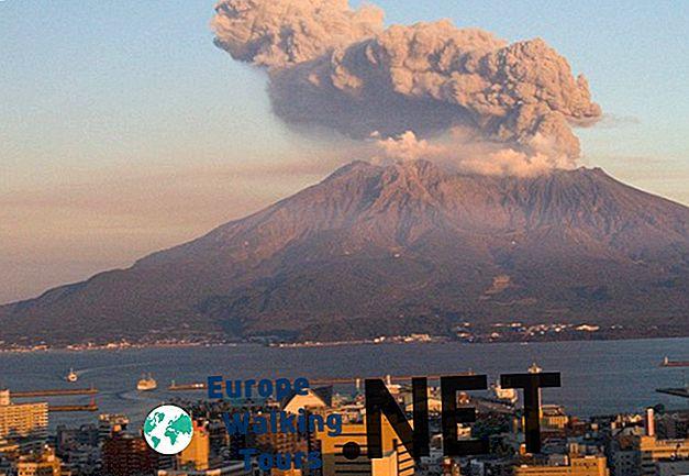 5 märkliga vulkaner i Japan
