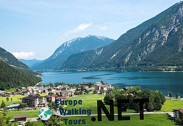 12 labiausiai scenos ežerų Austrijoje