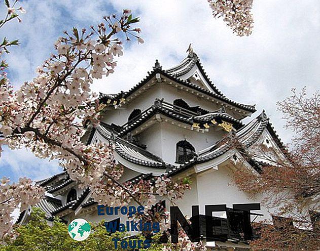 日本で5つの最も美しい城